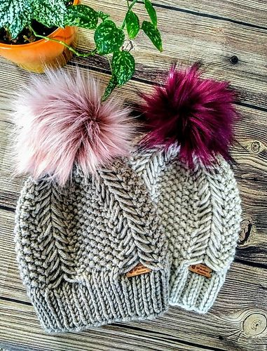 Ravelry: Braided Fishtail Beanie pattern by Carol's Off ...