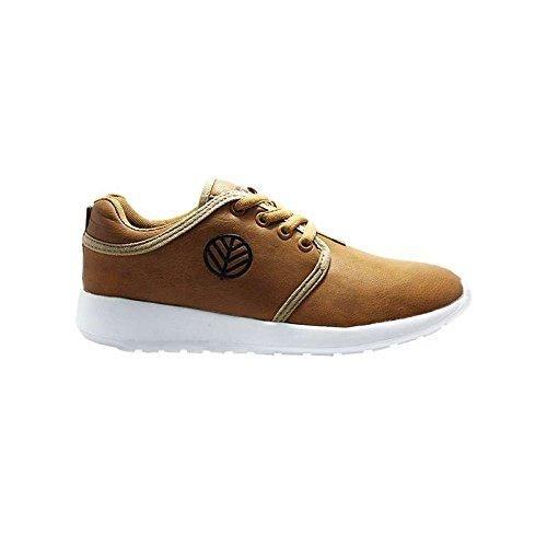 Kick Footwear Zapatos de Cordones Para Hombre, Color Marrón, Talla EU 40