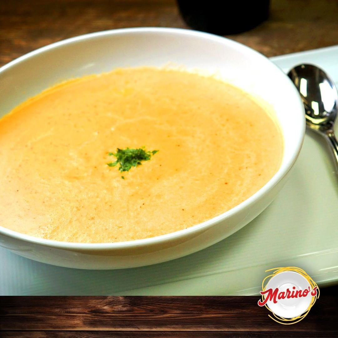 Enjoy at Marino's Pizza - Pasta our Delicious Soup with the special touch of Italian Food. See you soon at Marino's along with the family for an amazing experience.