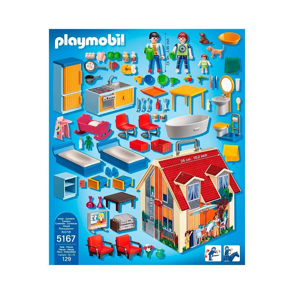 Casa malet n playmobil ni os pinterest playmobil for Casa maletin playmobil