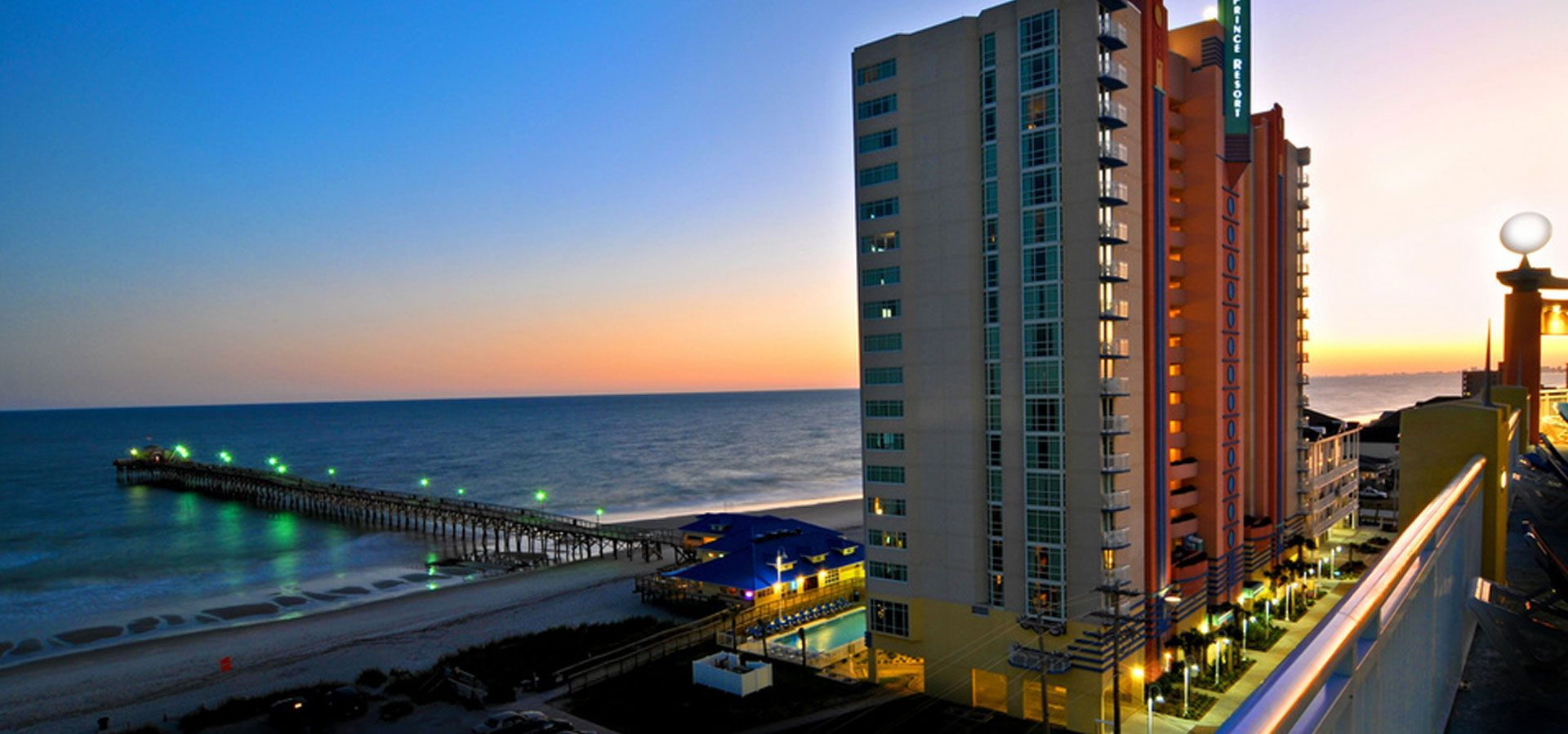 North Myrtle Beach Resorts Hotels Prince Resort Of Cherry Grove