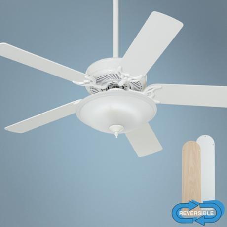52 Casablanca Four Season Iii White Energy Star Ceiling Fan Ceiling Fan Star Ceiling Ceiling Fan With Light