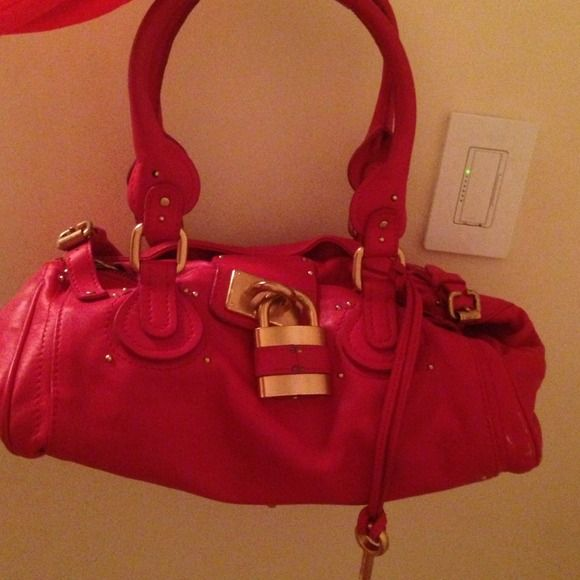 Red Bag Like New Besso Bags