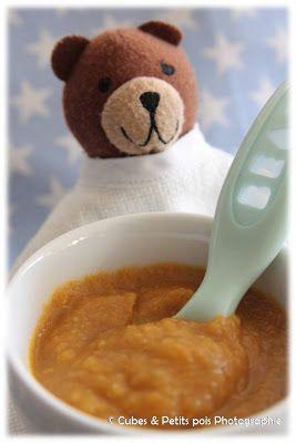 Cubes & Petits pois : Tout l'univers du repas pour bébés en deux coups de cuillère à pot