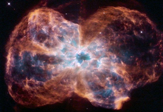 O Pequeno Ponto No Centro Da Nebulosa Ngc 2440 Foi Um Dia Uma Das Estrelas Mais Quentes Já Registradas Crédito Nasa Imagens Do Hubble Nebulosas Nebulosa