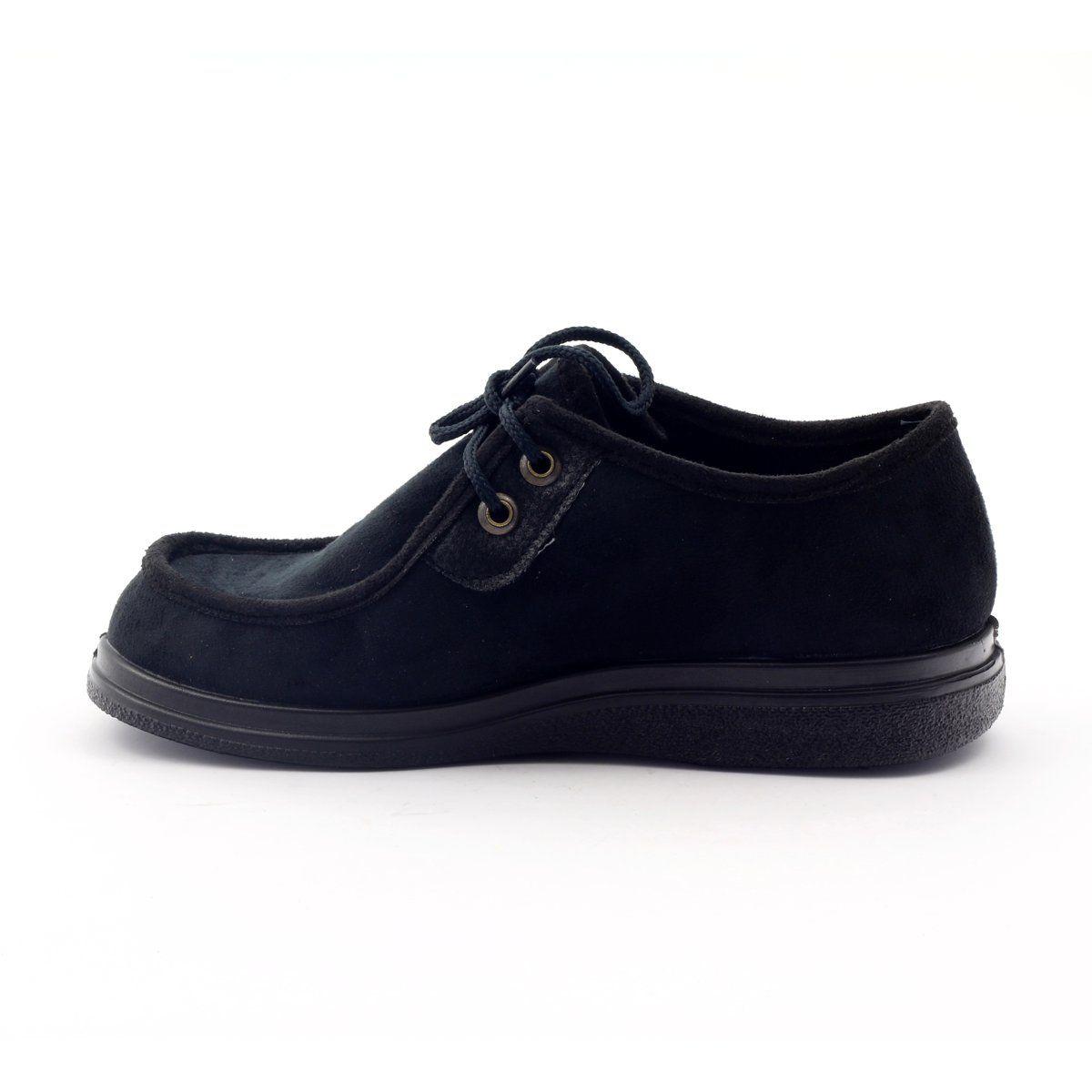 Polbuty Damskie Dla Cukrzykow Befado 871d004 Czarne Shoes Comfortable Shoes Loafers For Women