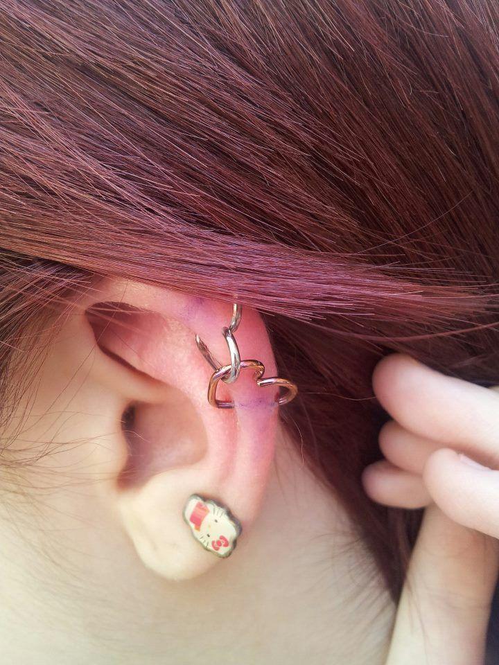 ear piercings   Tumblr   Piercings   Pinterest   Piercing