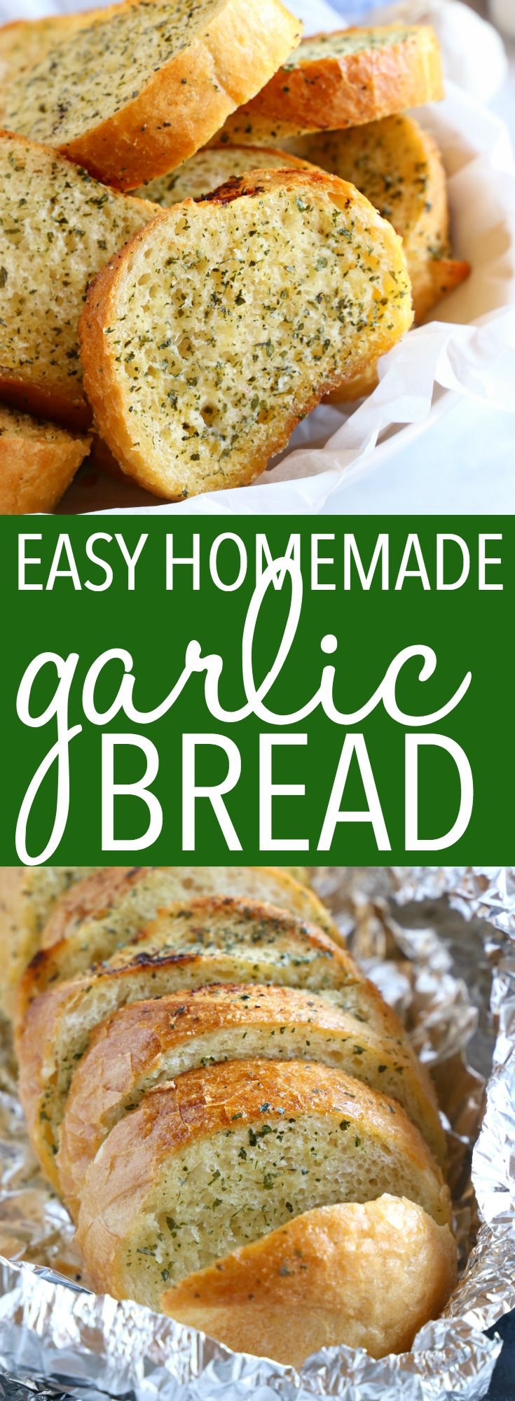 Easy Homemade Garlic Bread images