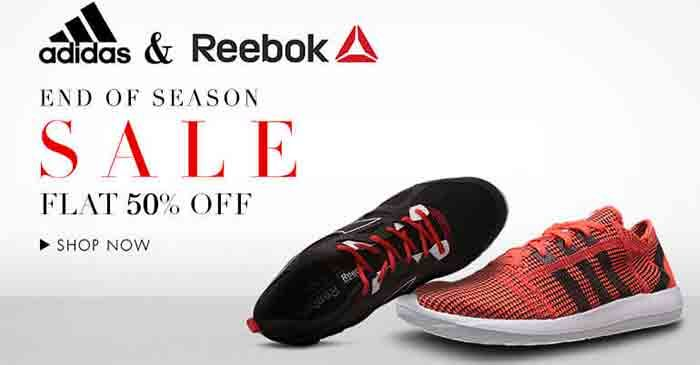 Buy top branded #adidas #shoes with Flat 50% OFF from