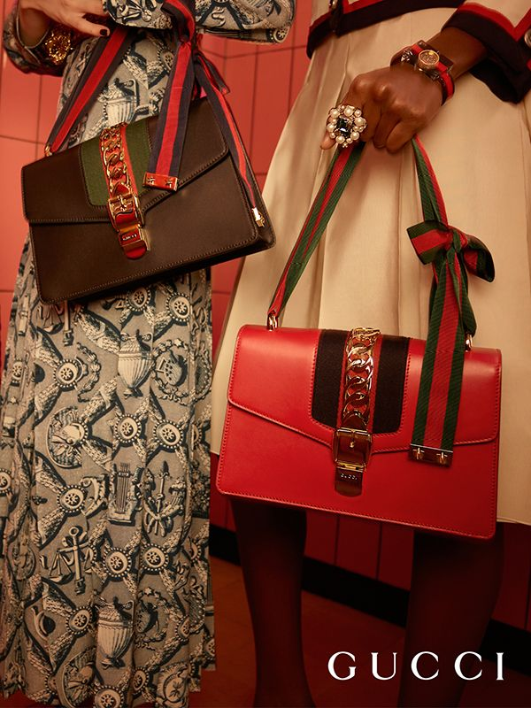 f6fb00c960a Co-mixing a bourgeois attitude with signature Gucci elements