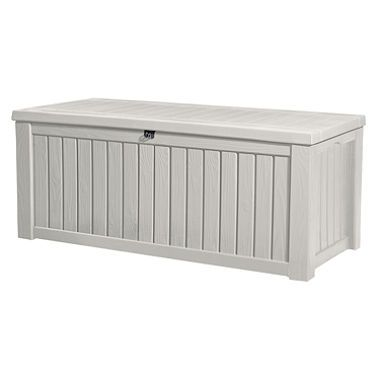 Rockwood 150 Gallon Outdoor Storage Deck Box, White