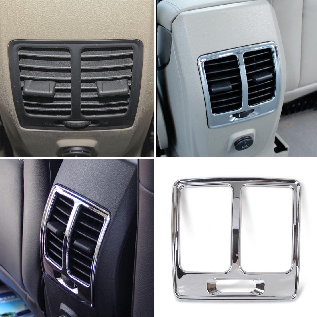 1pc Car Interior Armrest Box Rear Air Conditioning Vent