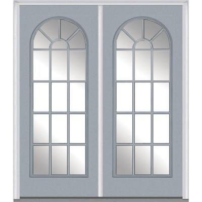 Mmi Door 64 In X 80 In Classic Right Hand Inswing Full Lite