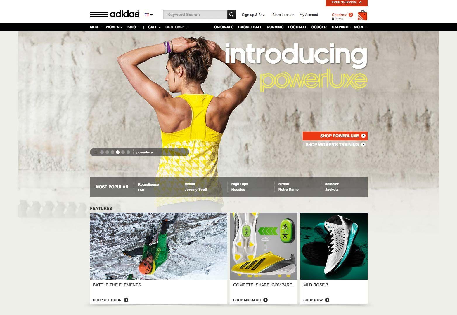 website adidas