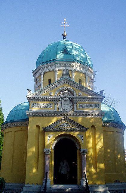 Zagreb Mirogoj Pravoslavna Kapela Mirogoj Cemetery The Orthodox Chapel Zagreb Croatia Zagreb Croatia