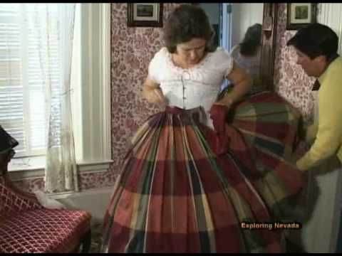 5ee63095f Victorian Secrets - Part 3 In this episode of EXPLORING NEVADA youll take  an undercover journeyto discover the underwear secrets of fashionable women  living ...