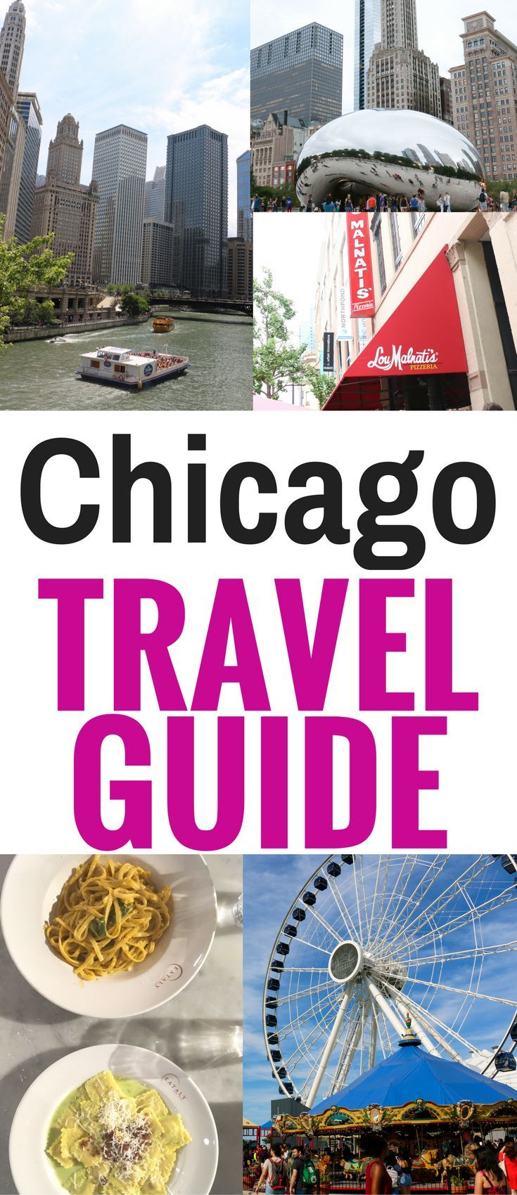 This Chicago Travel Guide gives you tips for fun things to do and see in Chicago for kids and adults. Plus, the best food and entertainment.