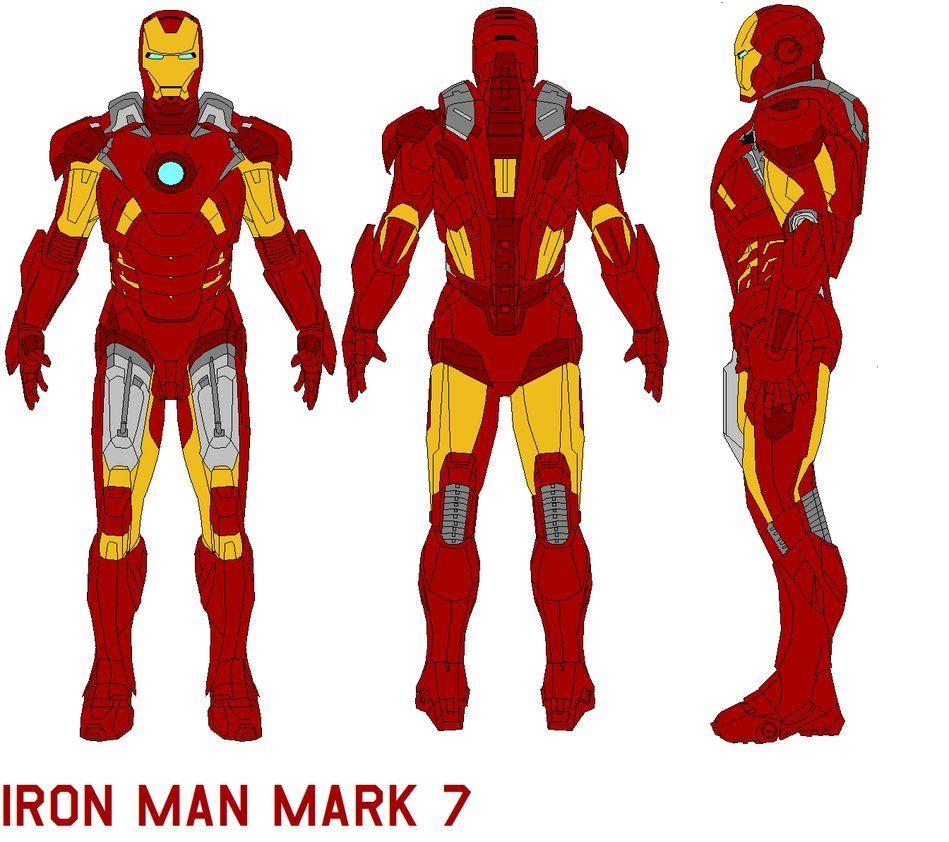 ironman mark 7 armor by bagera3005.deviantart.com on @DeviantArt ...