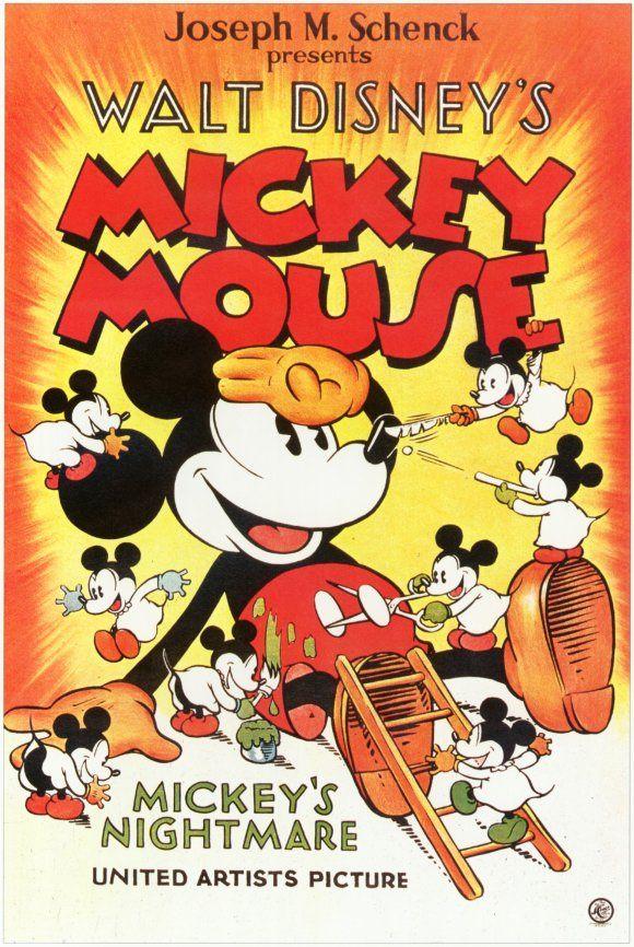 UNIVERSO DISNEY Posters Disney Mickey Mouse Cartazes