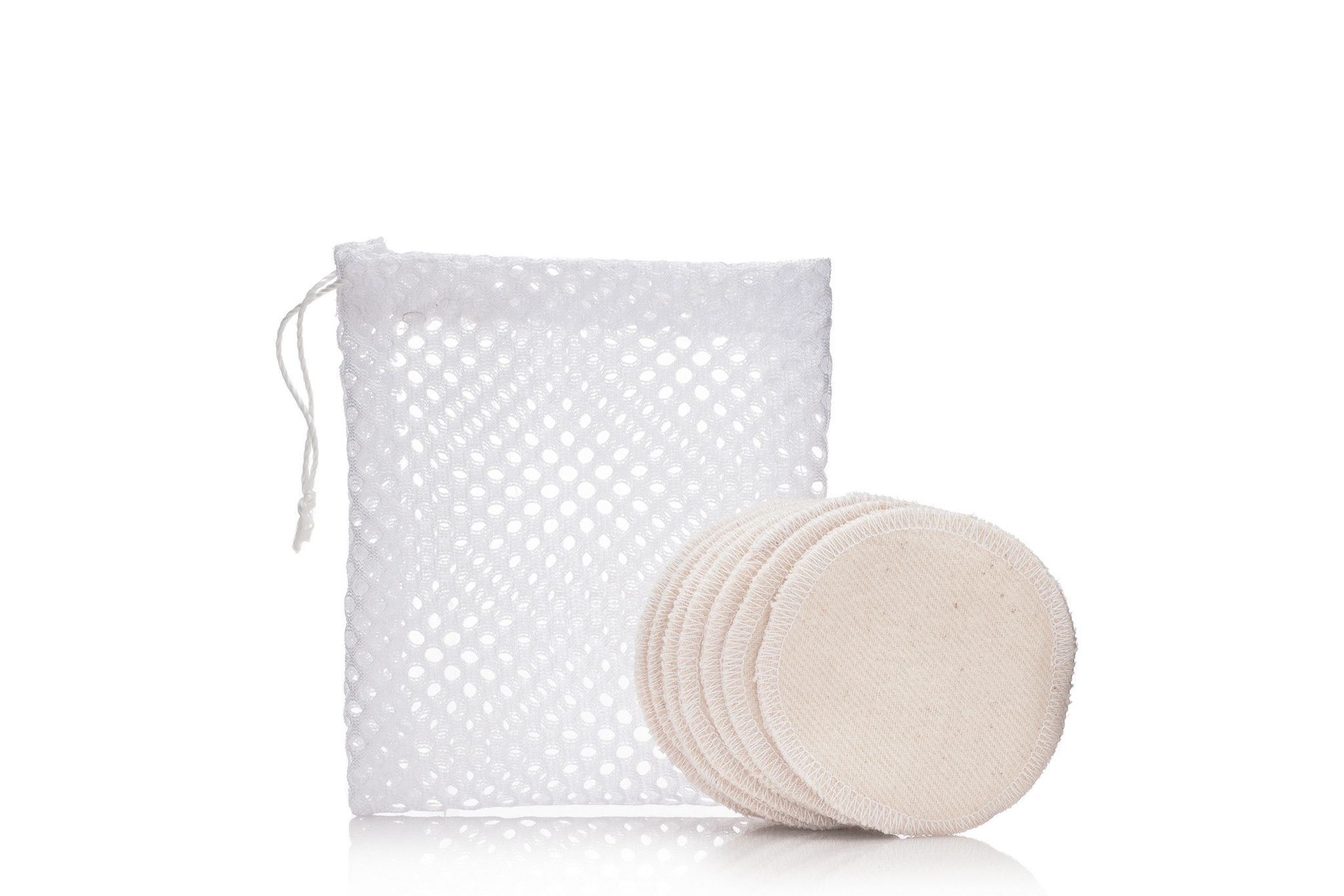 Eco Cotton Rounds Cotton pads which you can use for