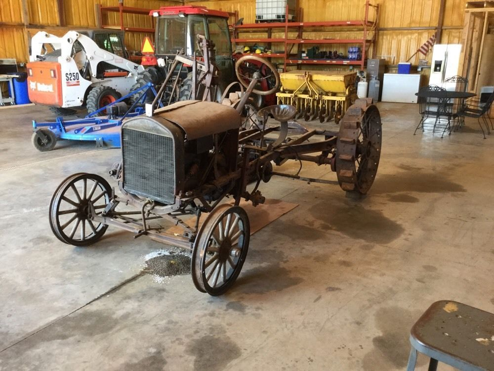 1925 Model T Ford Tractor (Doodlebug) Ford tractors