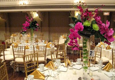 Worcester florists - Sprout: Wedding - Orchid and Kiwi