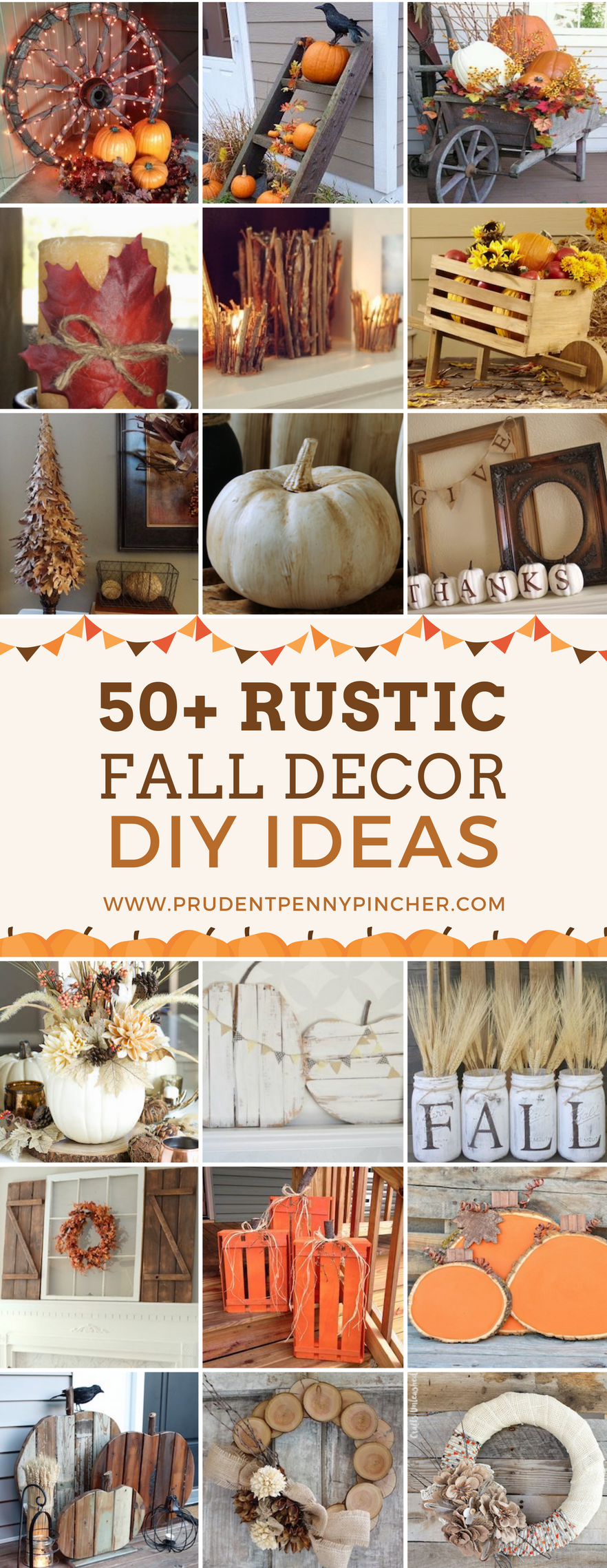 50 Rustic Fall Decor Ideas Rustic Fall Decor Fall Decor Fall Diy