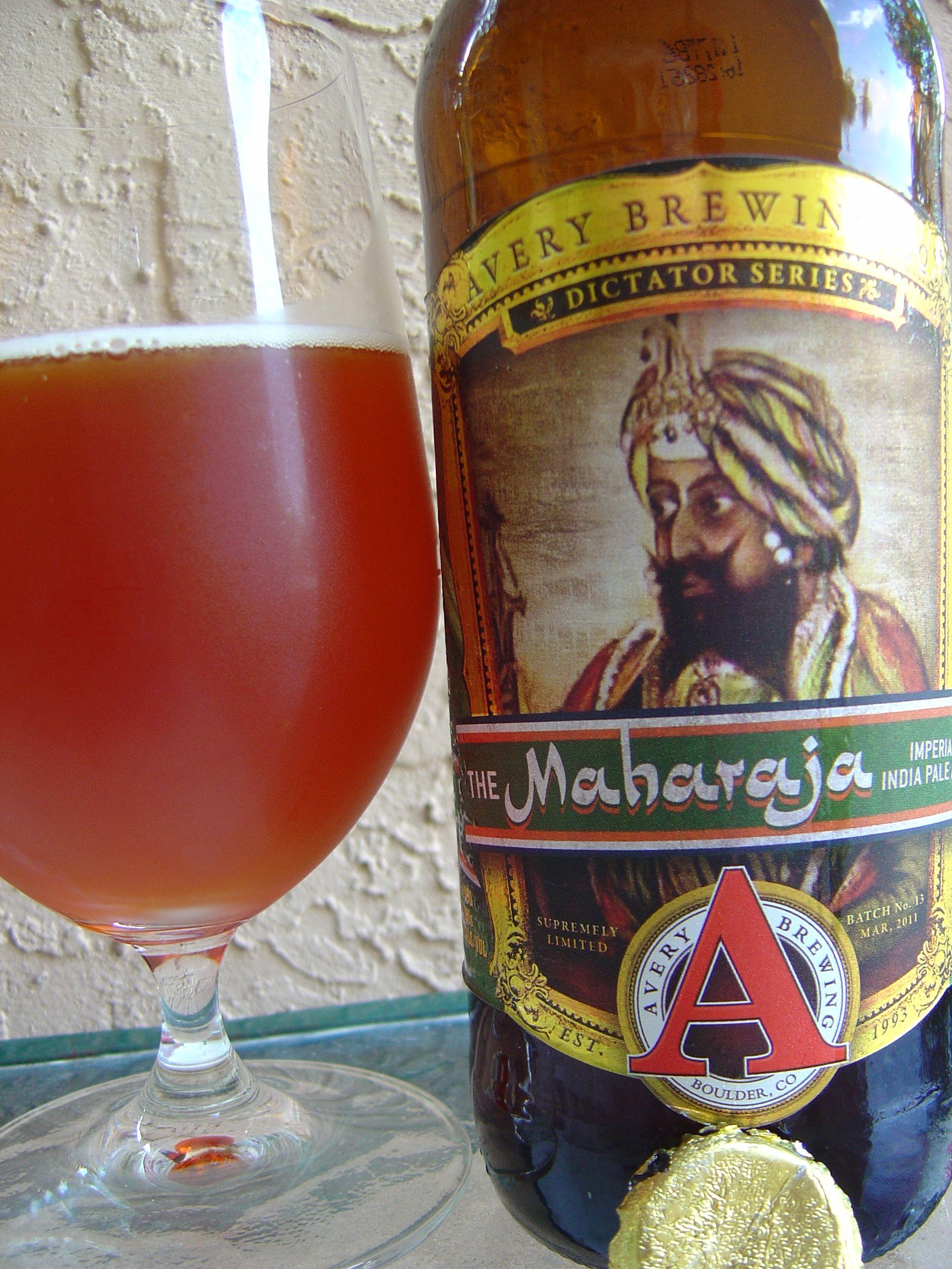 Avery Maharaja Beer Review Craft Beer Drinker Beautiful Beer Beer