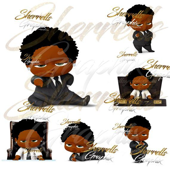 African American Boy Clipart Black And White