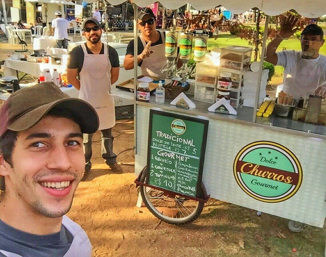 FoodTruck na Praça Brasil - https://www.facebook.com/DolceChurrosGourmet/