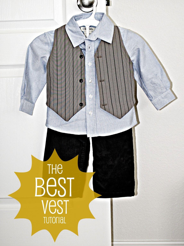 Boys Vest Pattern Magnificent Decorating