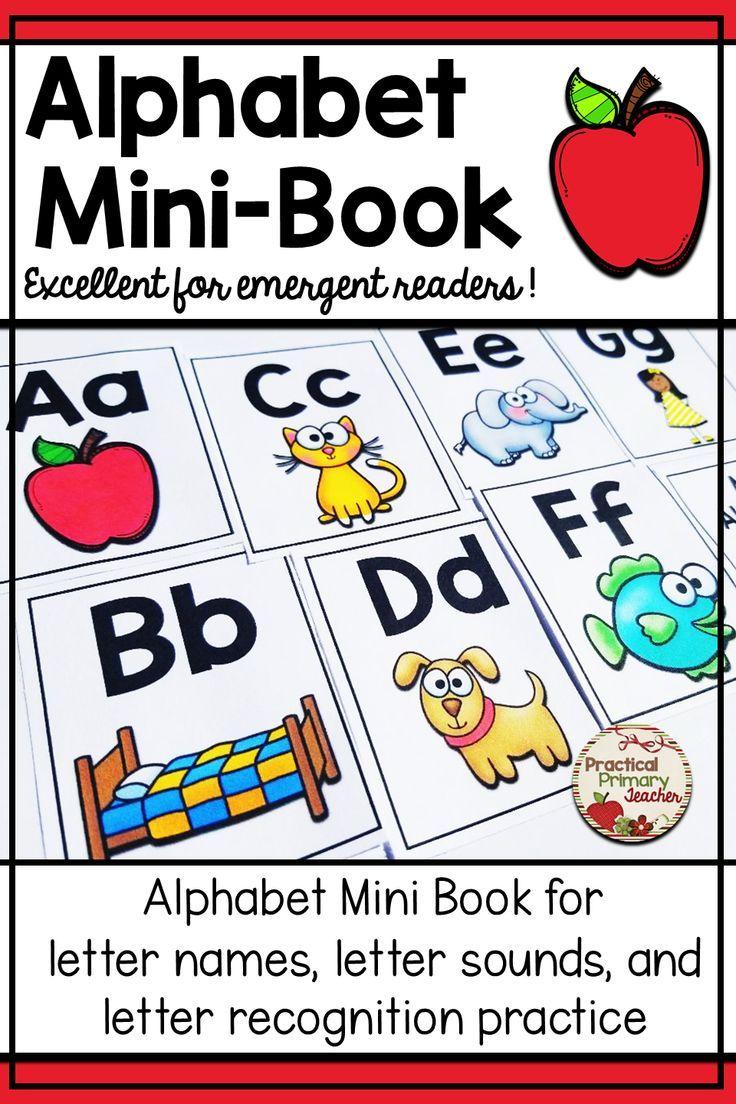 Alphabet Book Alphabet book, Teaching letters, Letter