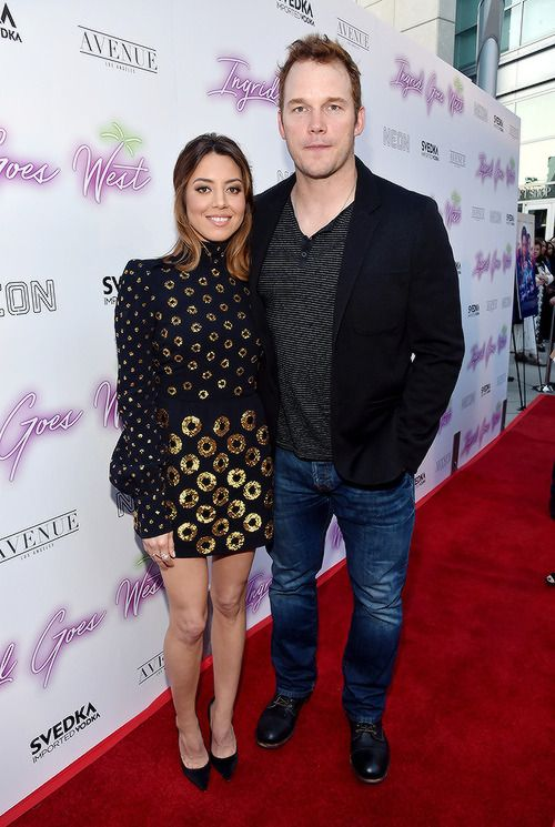 Aubrey Plaza And Chris Pratt Arrive At The Los Angeles Premiere Of Neon S Ingrid Goes West Held At Arclight Parks And Recreation Chris Pratt Ingrid Goes West