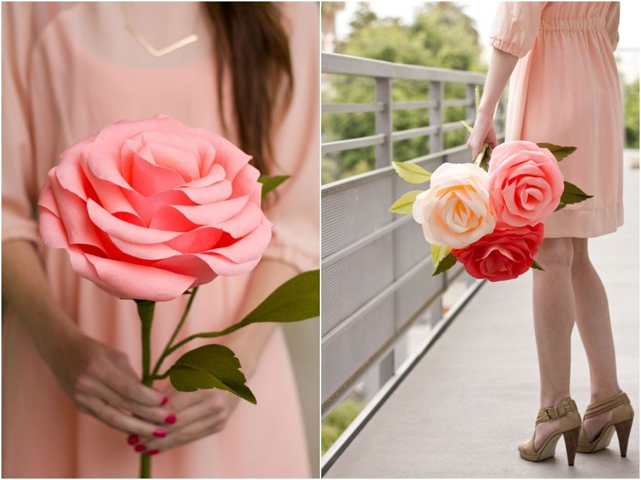 20 DIY Paper Flowers For A Beautiful Never-Wilting Spring Bouquet ...