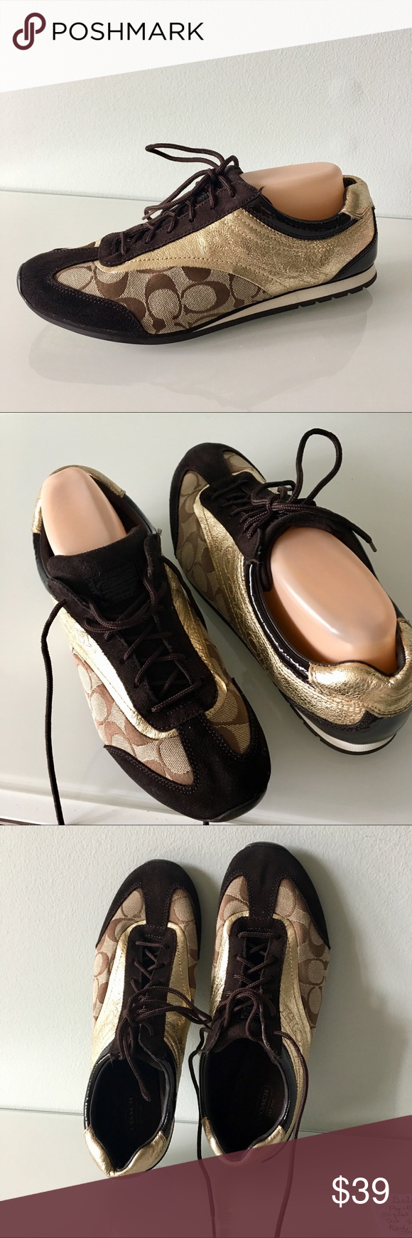 befc95277 ... france coach kodie sneakers size 11m sporty chic with coach iconic  signature logo and luxe suede