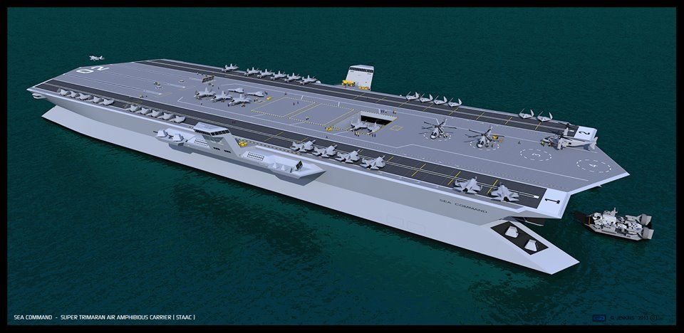 Future Aircraft Carrier Concept | marine | Pinterest ...