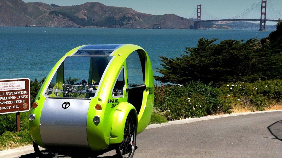Organic Transit Elf 3 Wheel Electric Vehicle Made In