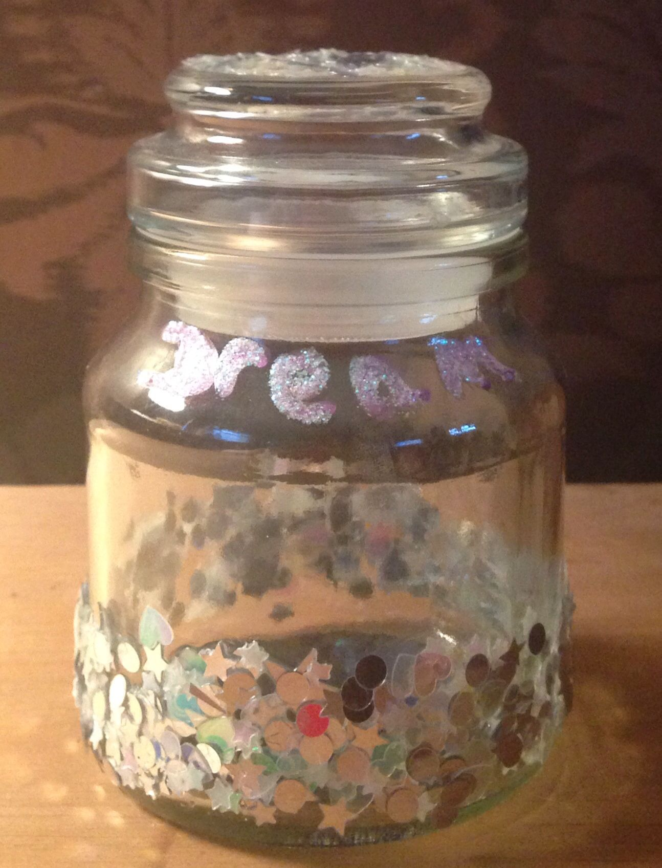 Dream Jar, which can double up as a candle holder