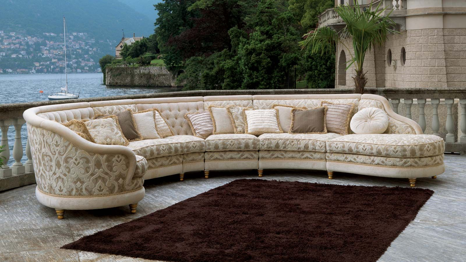 Italian Furniture Stores: Corner Sofa - Google Search