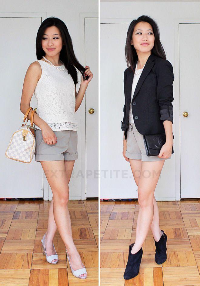 e5d078da520 Petite Fashion Challenge  10 - Summer to Fall