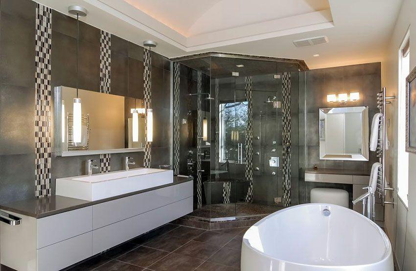 40 Modern Bathroom Design Ideas Pictures Modern Master