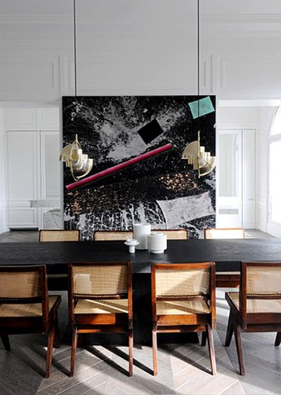 dining room in a neuilly apartment designed by joseph dirand dining room pinterest. Black Bedroom Furniture Sets. Home Design Ideas