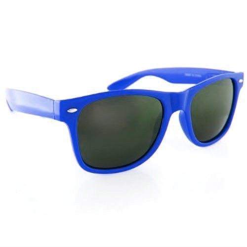 Royal Blue Wayfarer Style Sunglasses 1076