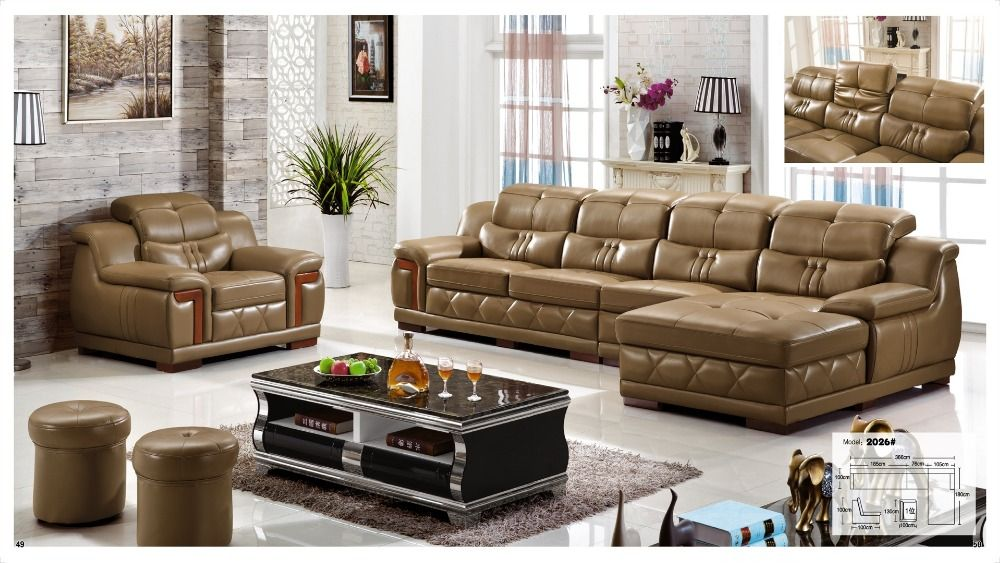 Charmant Iexcellent Designer Corner Sofa Bed,european And American Style  Sofa,recliner Italian Leather Sofa Set Living Room Furniture