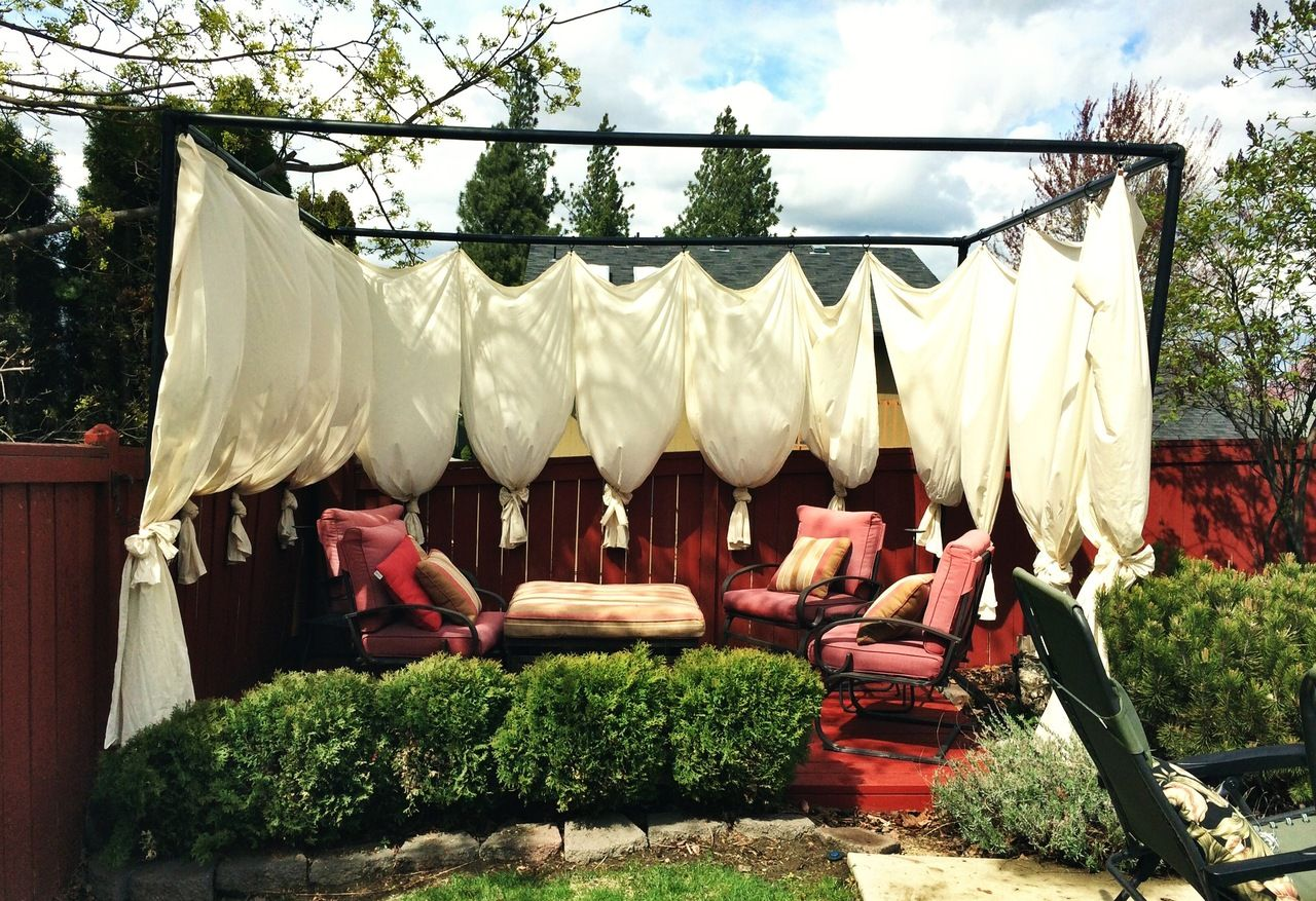 Diy Cabana Curtains Diy Cabana For The Home Pinterest Cabana Outdoor