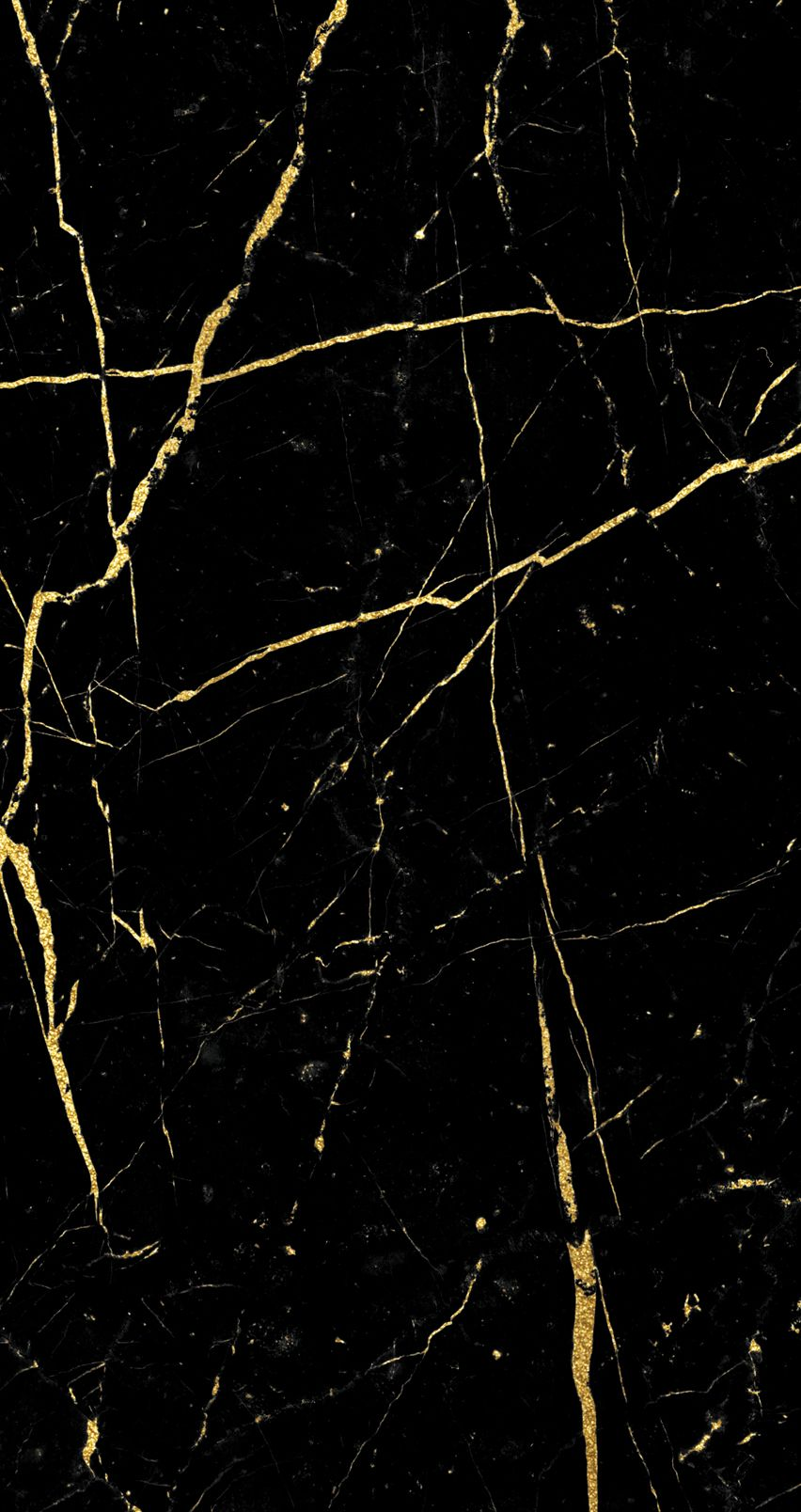 Wallpaper iPhone6 BlackGold Marble 852×1,608 pixels Art