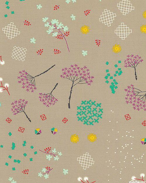 Cotton + Steel - Mochi - Asian Garden - Quilt Fabrics from www.eQuilter.com