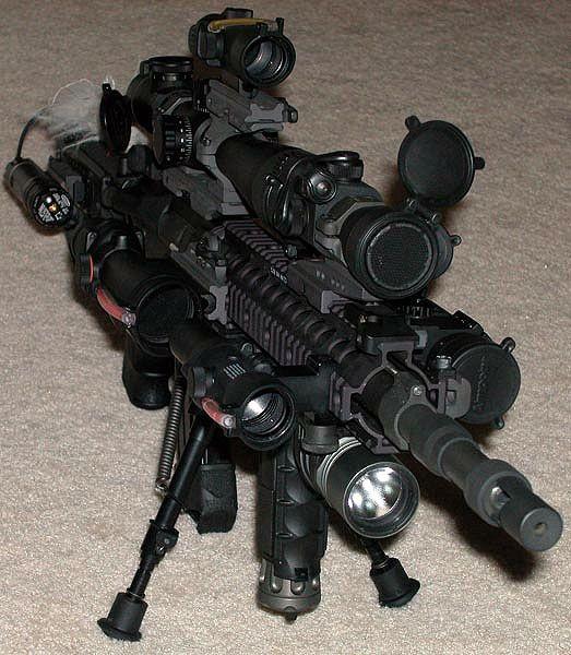 Tacticool Gun - Military Humor