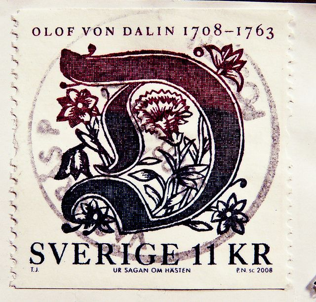 beautiful stamp Sweden 11 Kr. stamp Sverige Olof von Dalin Briefmarke Schweden postes timbre Suède francobolli Svezia bollo sellos Suecia selo Svenden 邮票 瑞典 Ruìdiǎn почтовая марка Швеция Σουηδία γραμματόσημα スウェーデン スタンプ 送料 Švédsko poštovné razítka por | Flickr - Photo Sharing!
