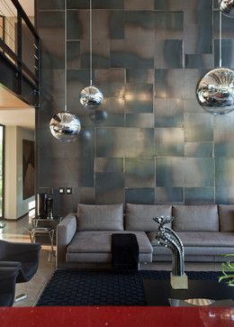 Double Volume Feature Wall Design Ideas Pictures Remodel And